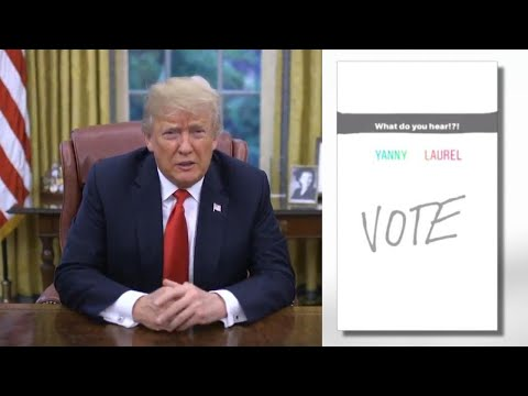 President Trump Hears 'Covfefe' in Yanny/Laurel Debate