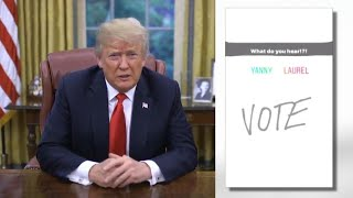 President Trump Hears 'Covfefe' in Yanny/Laurel Debate