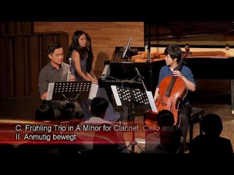 Carl Fruhling Clarinet Trio in A minor op. 40