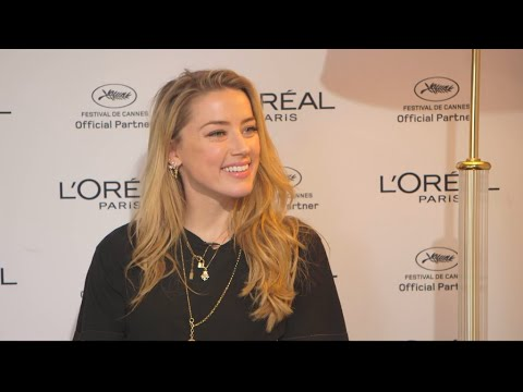 Cannes 2018: Amber Heard On Using Star Power For Social Activism.