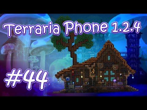 видео: lp. hm. terraria phone 1.2.4 #44 (Красивый дом для Трюфеля!)