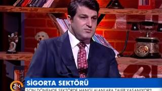 "Doga Sigorta CEO'su Nihat Kırmızı, 24 TV ""KAHVE MOLASI"" (02.02.2017)"