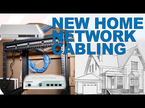#2: Cabling and Patch Panel Install | My New Home's Network | An Engineer's Network | Smart Home
