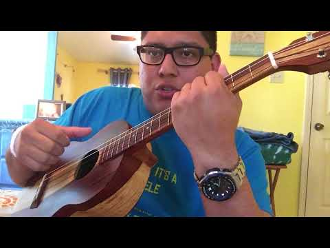 Tutorial Pt 1- Rumba Flamenco strumming on Ukulele