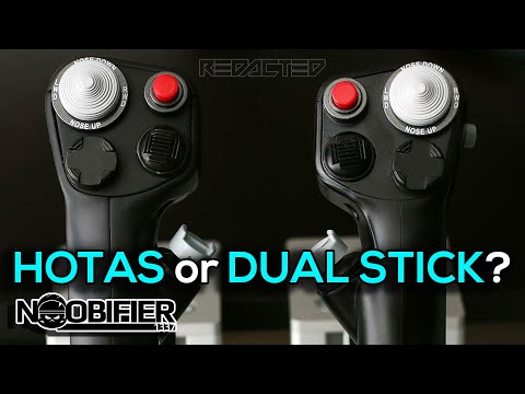 Thrustmaster Launches the T 16000M FCS Space Sim Duo Joysticks