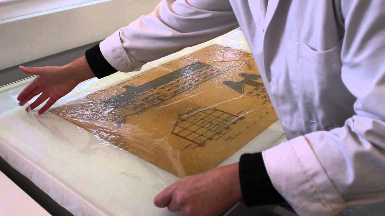 Cleaning tracing paper at the essex record office youtube cleaning tracing paper at the essex record office malvernweather Images