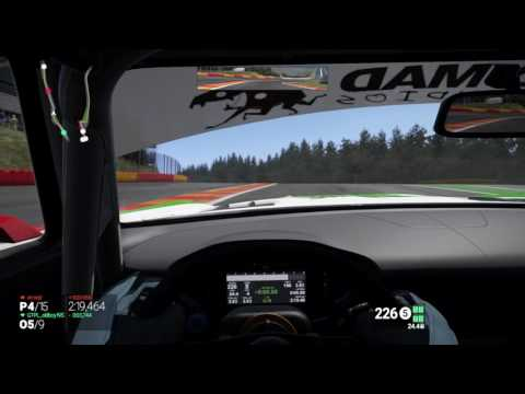 Project CARS LIGA PMC&LTE R1 GP SPA sebaws Onboard