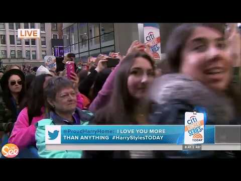 Carolina - Harry Styles - LIVE on The Today Show