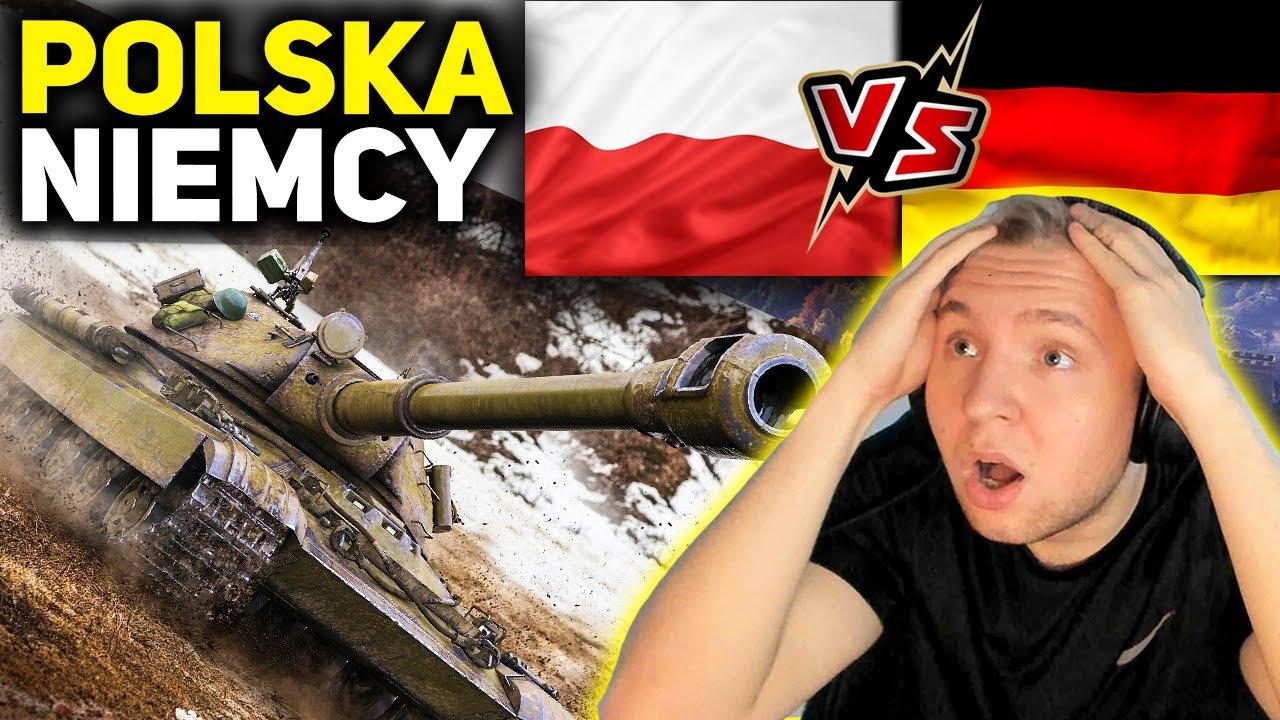 DOWODZĘ !!! - POLSKA vs NIEMCY - WORLD OF TANKS