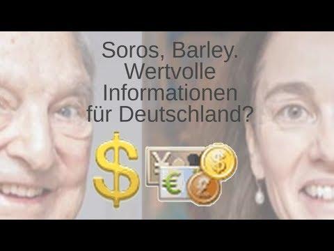 Barley, Soros. Zukunftspläne verraten?
