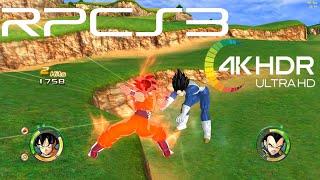Setup Guide - True 4K HDR ReShade - Dragon Ball Raging Blast 2 - Goku VS Vegeta - RPCS3 PS3 Emulator