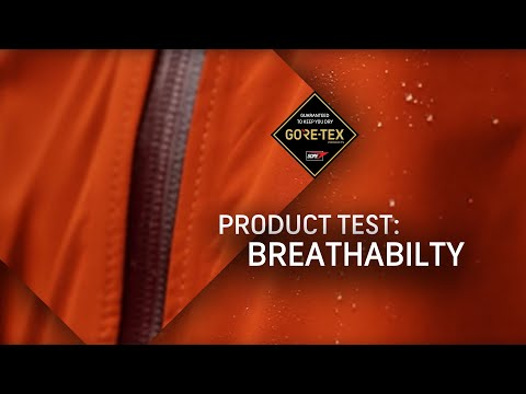 GORE-TEX Products Test #3: Breathability