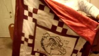 Minky Backing-super Soft;...bulldog  Quilt