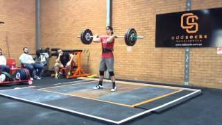 Dave Cali Clean and Jerk at Odd Socks Competition