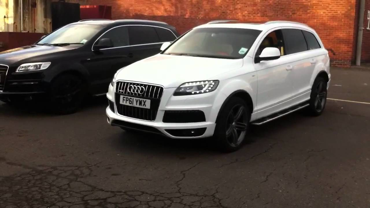Q7 Audi White 2018 Audi Q7 3 0 Tfsi Premium Plus In