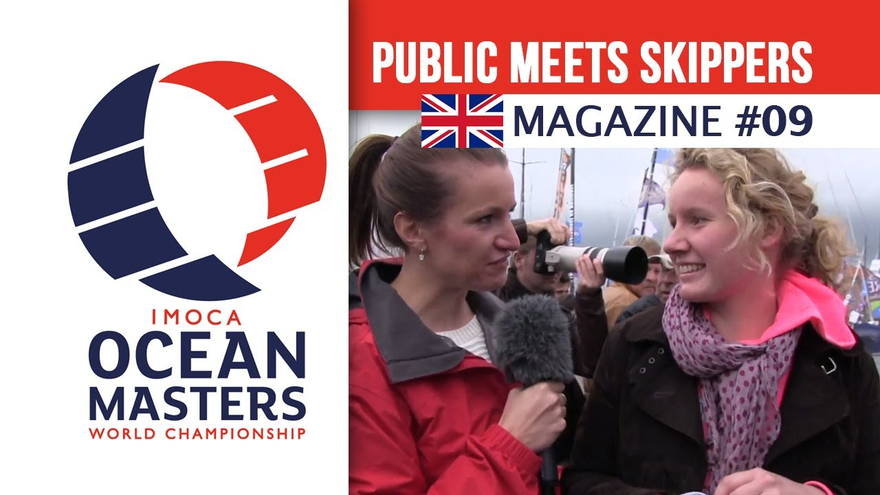 The public comes in le Havre to meet their favorite skippers - Magazine 09 | Ocean Masters