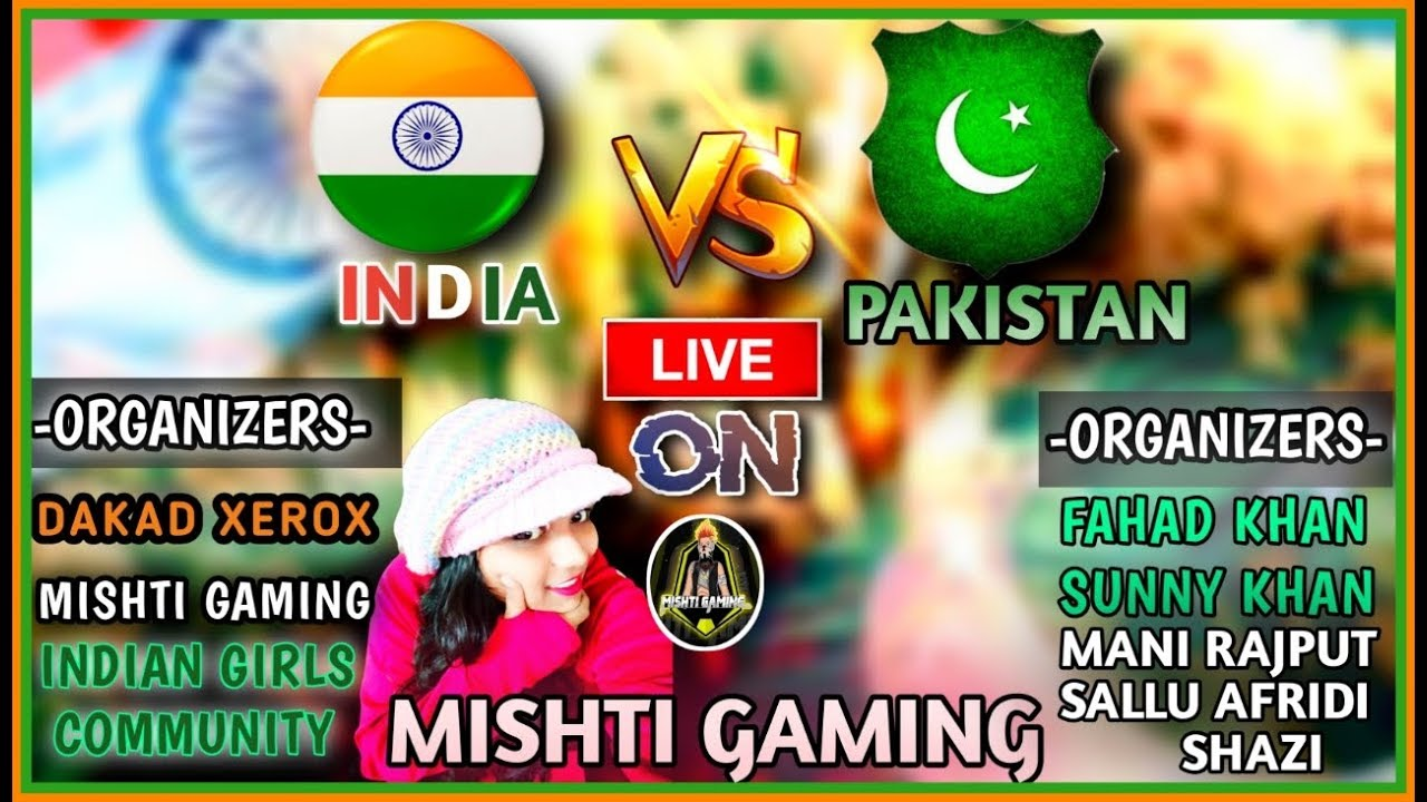 INDIA VS PAKISTAN || CUSTOM ROOMS AND PLAYING WITH SUSCRIBERS