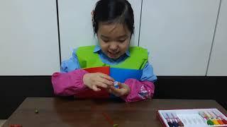 주영이의 미니딸기반짝볼펜 만들기2