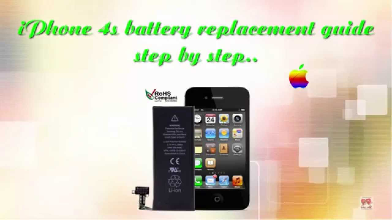 how to replace iphone 4s battery how to replace iphone 4s battery step by step 1706
