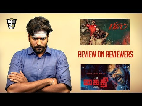 Bigil & Kaithi | Vijay | Nayanthara | Karthi | Friday Facts with VJ Arun | Review on Reviewers