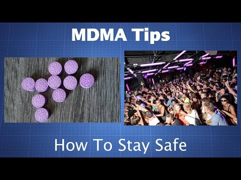MDMA (Molly, Ecstasy): Tips For Staying Safe