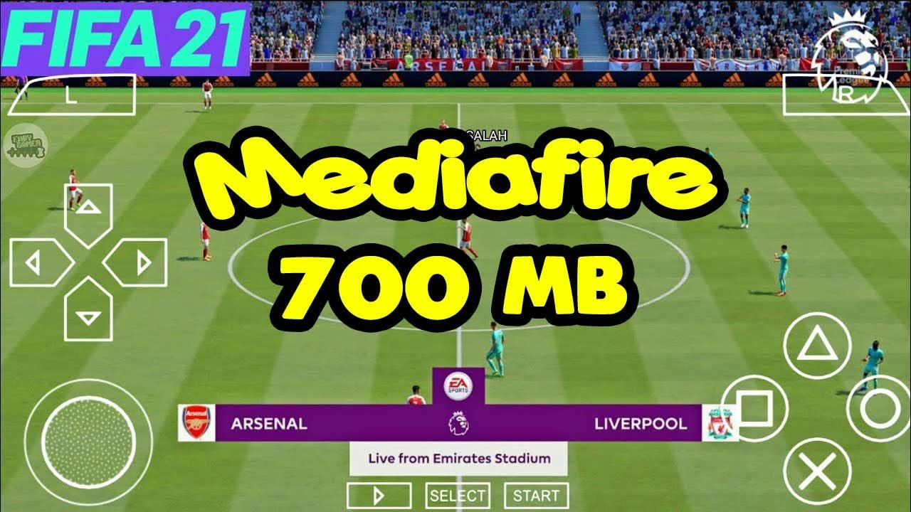 Download FIFA 21 PPSSPP Android Offline Graphics ps5 New Menu Faces Kits 21 & Full Transfers Update