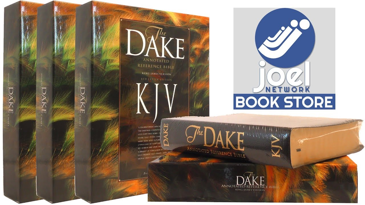 Dake's Annotated Reference Bible-KJV  (English, Leather / fine binding, Dake Finis J)