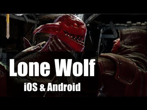 Gamescom 2013: Joe Dever's Lone Wolf - Blood on the Snow im Video (iOS & Android)
