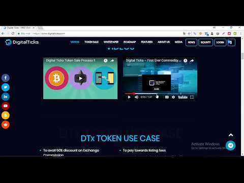 Digital Ticks ICO Review