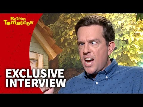 How Long Can Ed Helms Hold His Tra-La-Laaa? | Captain Underpants Interview (2017) | Rotten Tomatoes