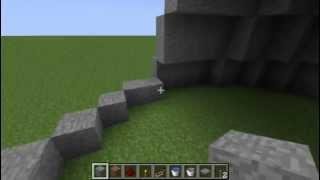 como fazer casa redonda no minecraft