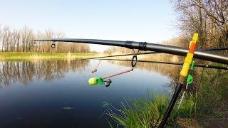 Как правильно прицепить кивок к удочке.Рыбалка.Fishing