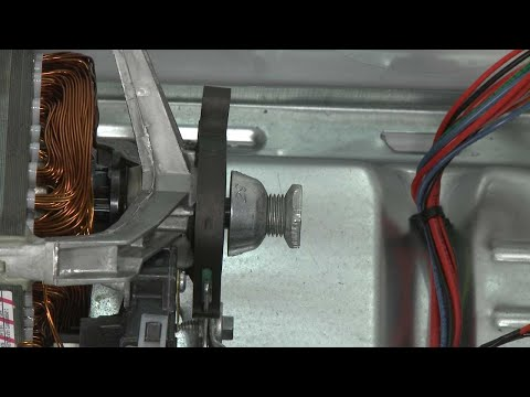 Dryer Motor Pulley Replacement (Model #WED85HEFW0)