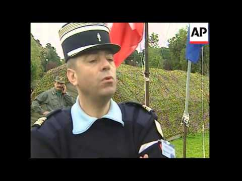 Exercises to promote EU police force held outside Rome