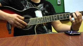 cky metal type acoustic song