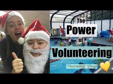 COME TO SCHOOL & VOLUNTEER WITH ME!! x