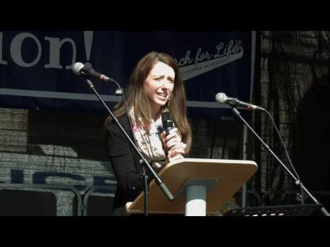 Stephanie Gray March for Life UK 2016