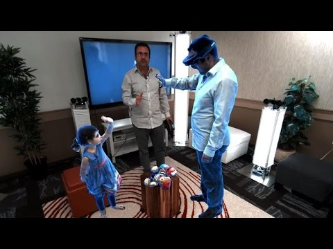 Holoportation brings Star Wars-style holograms to life (CNET