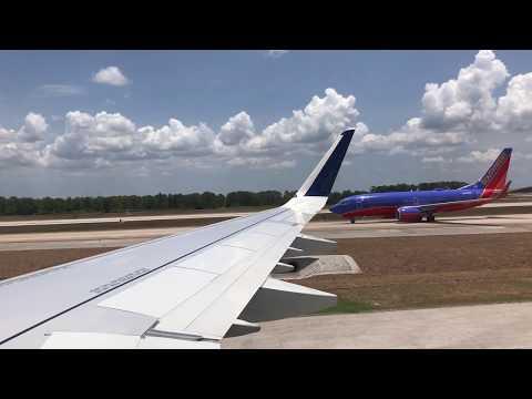 Delta A321 Landing at Orlando MCO Airport
