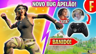 O MAIOR BUG DO FORTNITE QUE SE TORNOU APELÃO, THOME vs XBOX,  TOMOU BAN NO MEIO DO CAMP, BEST CLIPS