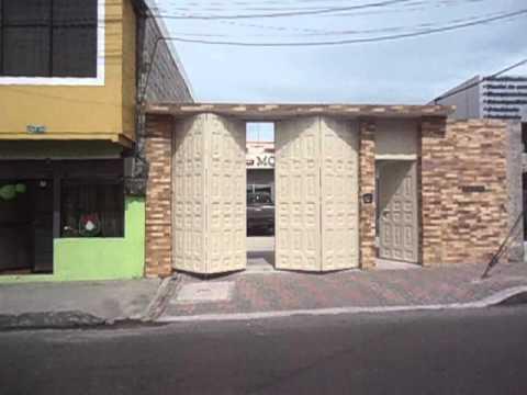 Puerta Plegable de Garaje Automtica  YouTube