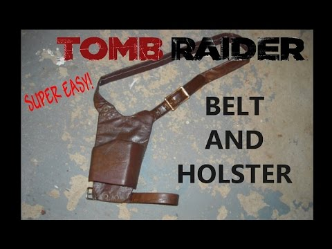 how to make a gun holster cosplay