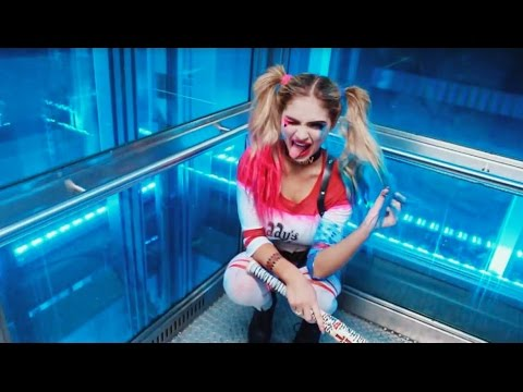 HARLEY QUINN SUICIDE SQUAD FULL LOOK ❤️💙