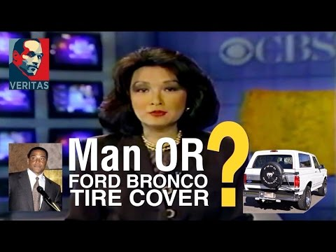 "News Anchor Connie Chung Plays the Game Show ""Man or Ford Bronco Tire Cover?"""