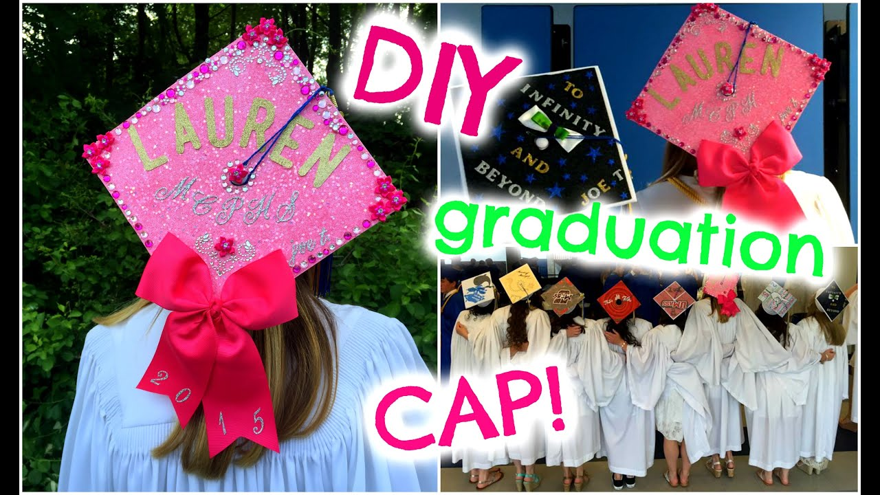 DIY Graduation Cap ♡ How I Decorated My Cap