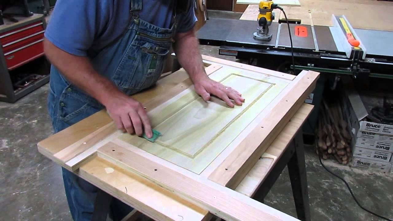 Making a door jig & Making a door jig - YouTube