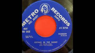 Gambar cover The Dream Girls...Crying in the night...Metro Records