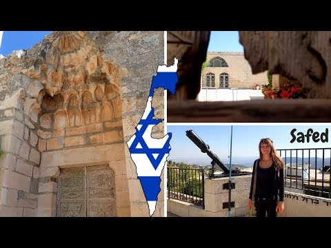 Safed Israel traveling all around the world...