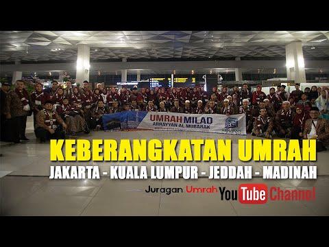 KEBERANGKATAN UMRAH SYAWAL JAKARTA - KL - JEDDAH - MADINAH.