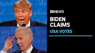 President Trump attacks Joe Biden over his son Hunter's businesses   ABC News